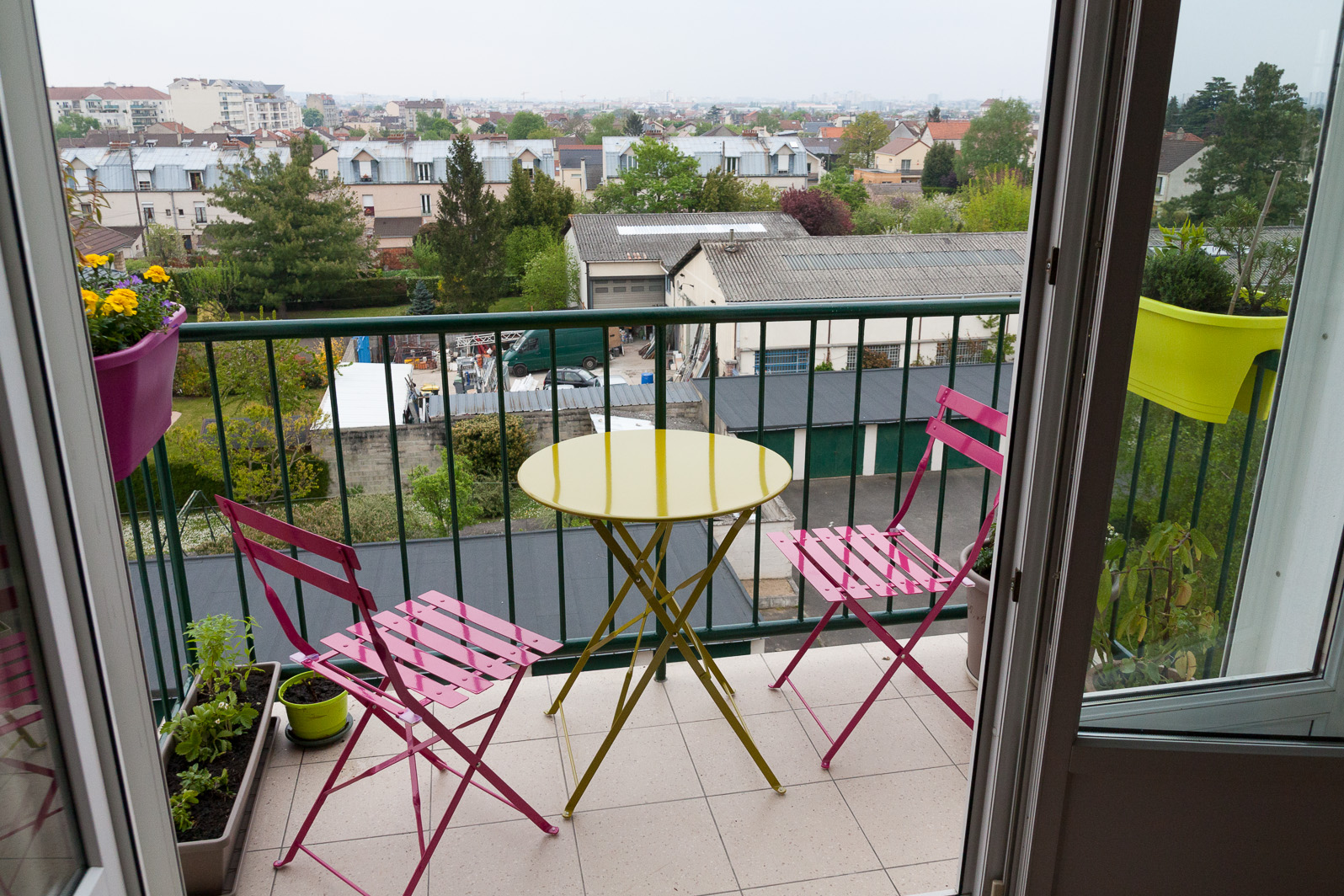 Inspirez vous d 39 id es de d coration et d 39 am nagement petit for Decoration balcon d appartement