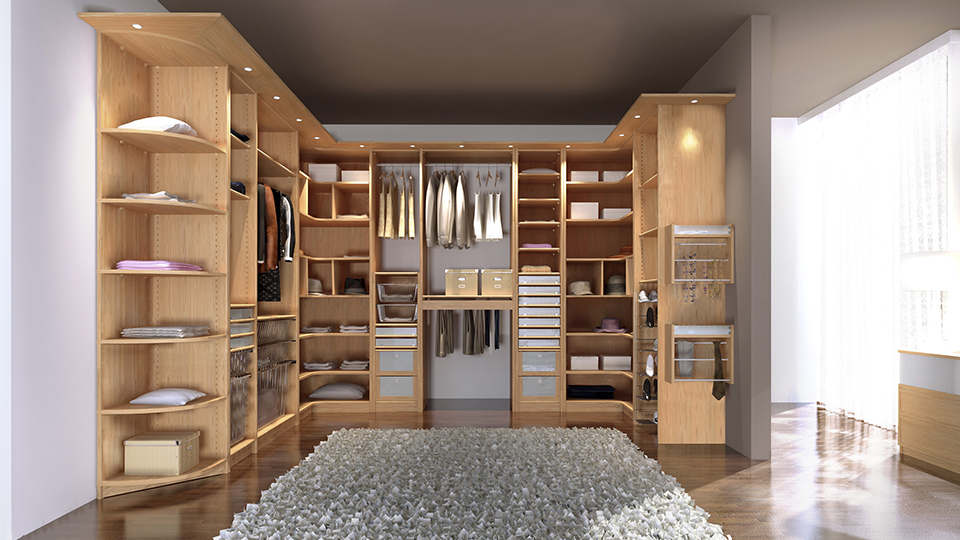 Un dressing pour la suite parentale univers d co for Photo suite parentale avec salle de bain et dressing